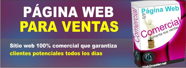 paginas web vendedoras