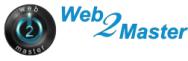 Diseño de páginas web Web2Master.net Logo